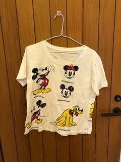 🚚 米奇寬鬆T恤 (染色)