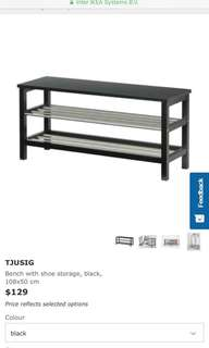 Ikea Shoe Rack with Bench (UP $129)