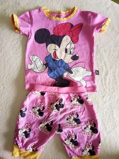 Minnie mouse set 90 cm 2 yrs old