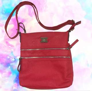 🇺🇸💯Style & Co Red Crossbody Bag