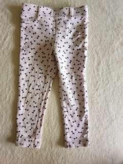 H&M leggings 1.5-2 Y