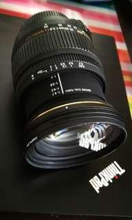 Sigma 18-50mm F2.8 EX Macro HSM Nikon