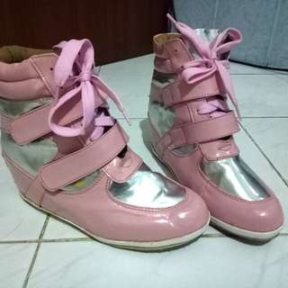 Wedges Shoes Pink