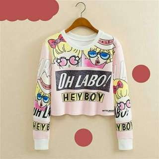 Sweater crop ohlabo