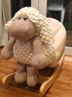 Rocking horse/ chair/ sheep