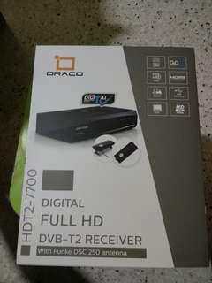 DRACO DIGITAL FULL HD DVB-2 RECEIVER
