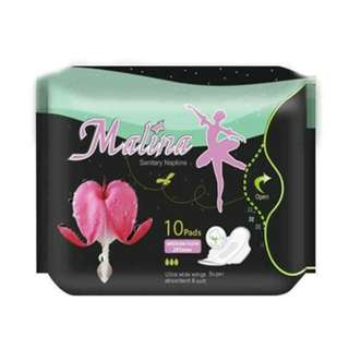 🚚 Malina Sanitary Napkin ULTRA THIN WINGS 320MM