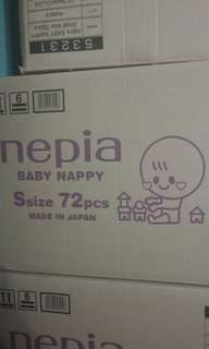 baby diapers size S