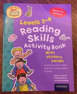 Reading Skills Activity Book Level 3-4 (Oxford Reading Tree