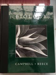 Biology, 6th edition (Campbell and Reece)