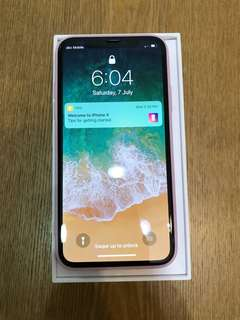 行貨 Apple iPhone X 64GB Black Colour