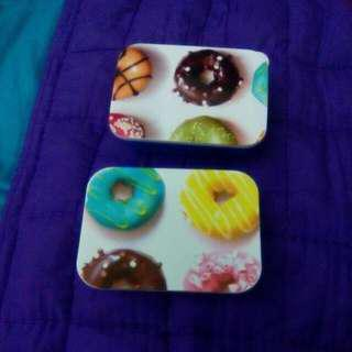#99 SALE 2 PCs Of Small Lunchboxes Or Kit Boxes