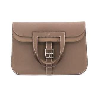 (NEW) HERMES H070428 HALZAN TAURILLON CLEMENCE SHOULDER BAG PHW 全新 手袋