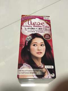 BN Liese Hair Dye Red Velvet