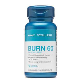 [全場最平旺角門市現貨] 美國 GNC Burn 60 燃脂60減肥配方 Total Lean™ Burn 60™ CLA L carnitine Q10