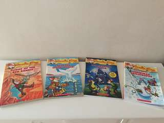 Geronimo Stilton x 3