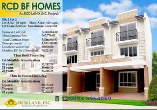 house and lot for sale @ inside BF Homes Paranaque city
