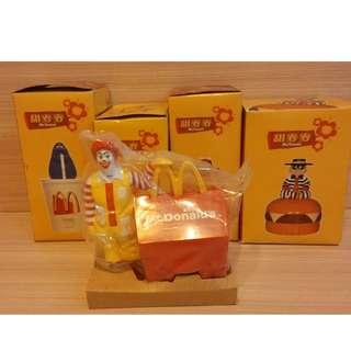 1998年 香港麥當勞(McDonald's) 甜麥麥糖果盒全套