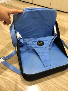 Portable baby chair for feeding
