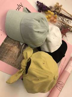 轉賣Twinkle韓國連線 許願款後綁蝴蝶結帽