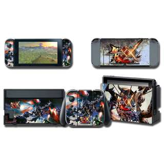 Nintendo Switch Decal Skin Monster Hunter XX