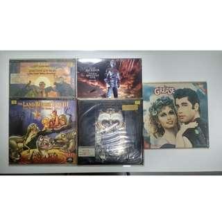 Classic Laser Discs (LD)