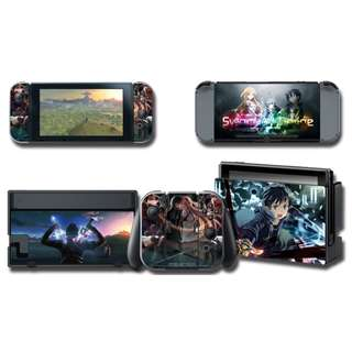 Nintendo Switch Decal Skin Sword Art Online SAO