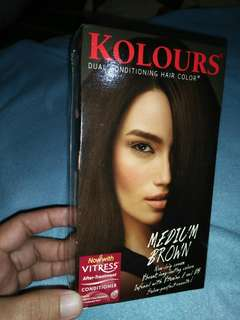 Kolours Medium Brown