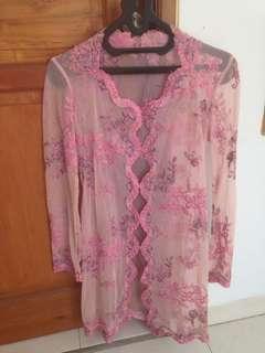 Kebaya soft pink