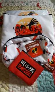 3-1 incredibles 2  pouch from Jurong Point