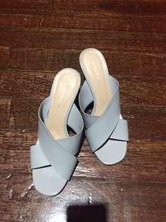 Primadonna block heels gray 895 with box