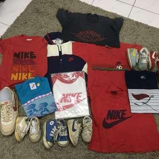 Nike vintage kids combo
