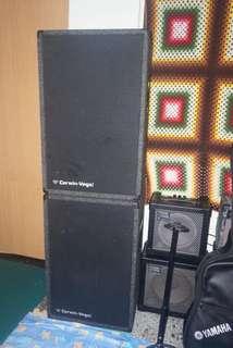 🚚 Cerwin-vega hi fi speaker 2pcs