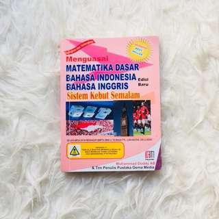 BUKU SKS SMA MATEMATIKA BAHASA INDONESIA BAHASA INGGRIS 2018