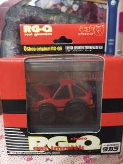 Choro Q / RG-Q REAL GIMMICK / Toyota AE86 Kai  / QShop Original