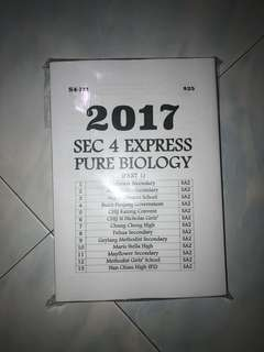 Olevel exam paper pure biology
