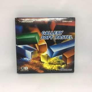 Gallery Soft Pastels 24 Colours Chalk Pastels