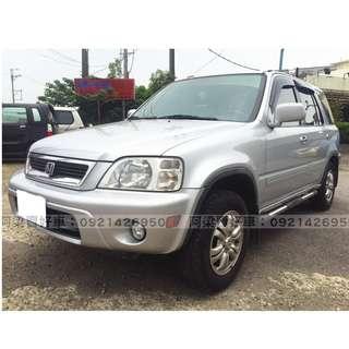 2002年 - 本田 - CRV(4WD.雙安.上山下海沒問題) 『輕鬆低月付』怎麼輕鬆貸.讓我來幫你