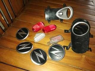 Spare parts Nissan Fairlady 350z Z33