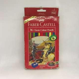 Faber Castell Classic Colour Pencils 36