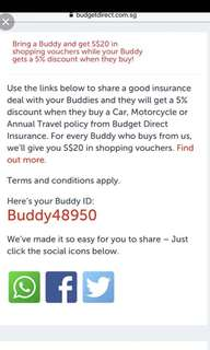 Insurance Budget Direct referral