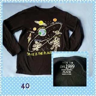 Black shirt 7t