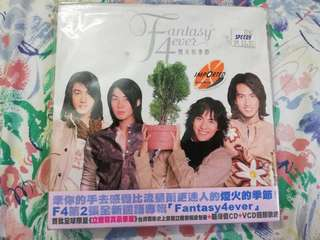 F4 Fantasy4ever CD+VCD 烟花的季节