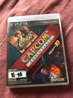 PS3 capcom essentials- Super street fighter 4, devil may cry & megaman 10