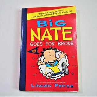 BIG NATE: Goes for Broke