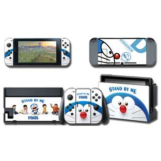 Nintendo Switch Decal Skin Doraemon Stand By Me
