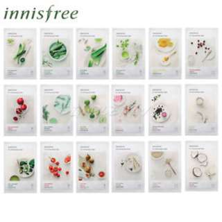 (D) Innisfree My Real Squeeze Mask NEW