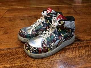 Reebok Marvel multi-hero shoes