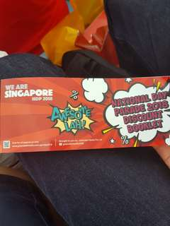 NDP 2018 discount booklet