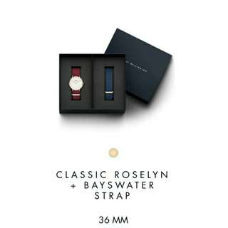 Dw Set Roselyn + Bayswater Strap New